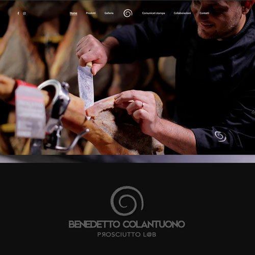 Benedetto Colantuono Prosciutto L@b site